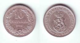 Bulgaria 10 Stotinki 1906 - Bulgaria