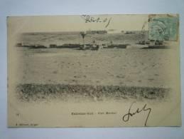 ALGERIE  -  Extrême  SUD  :  FORT  MIRIBEL    (J. GEISER , Alger)   1905 - Argelia