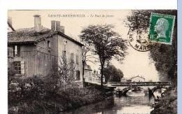 Sainte-Menehould (Marne) Le Pont De Pierre. - Sainte-Menehould