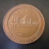 SCHEVENINGEN 1937 CONCOURS INTERNATIONAL MEDAGLIA DIAMETRO 50 Mm. - Paesi Bassi