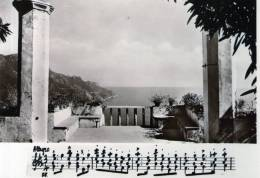 """Bellissima  Cartolina  Anni 50  """" RAVELLO - Belvedere Di Villa Rufolo  -  Rievocazioni Wagneriane """" - Salerno"""
