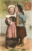 Cpa Brest Les Petits Amoureux - Brest