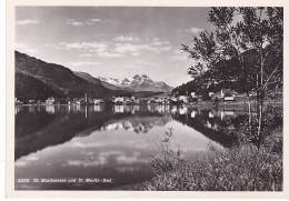 21066  St. Moritzersee Und St. Moritz Bad -5230 Albert Steiner - GR Grisons