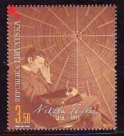 Croatia 2006 Y 150th Ann Of Birth Nikola Tesla Mi No 782 MNH - Croazia