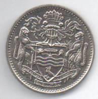 GUYANA 25 CENTS 1990 - Monnaies