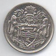 GUYANA 25 CENTS 1990 - Altri – America