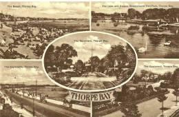 Thorpe Bay. Cpa Multivues De Thorpe Bbay. - Autres