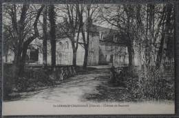 CPA 58 SAINT GERMAIN CHASSENAY CHATEAU DE BEAUVOIR Non Ecrite - Other Municipalities