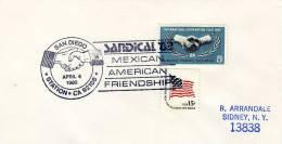 USA / Postmarks / Mexican - American Friendship / International Cooperation Year 1965 - Etats-Unis