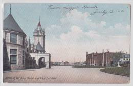 PORTLAND (Maine) - Union Station And West End Hotel - Tramway - 1900's Early Ppc - Portland