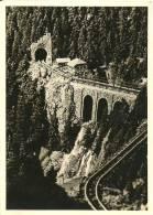 Carte-photo : Foto Leni Bauer, Much (Sieg) : Schwarzwälder Gebirgskrippe  Sankt Oswald Im Höllental... 1958/59 - Non Classés