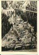 Carte-photo : Foto Leni Bauer, Much (Sieg) :Schwarzwälder Gebirgskrippe Sankt Oswald Im Hollental Unter Dem ... 1958/59 - Non Classés