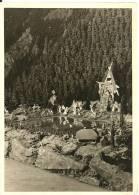 Carte-photo : Foto Leni Bauer, Much (Sieg): Schwarzwälder GebirgskrippeSankt Oswald Im Höllental... 1958/59(cf Scan) - Allemagne