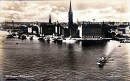 STOCKHOLM (Schweden), Riddarholmen, Gelaufen 1923, Schöne 2 Fach Frankierung, Gute Erhaltung - Schweden