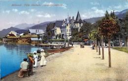 MILLSTATT (Kärnten), Villa Streintz, Strandpromenade, Gelaufen Um 1931, Seltene Frankierung, Gute Erhaltung - Zonder Classificatie