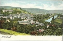 CPA ALLEMAGNE RUDOLSTADT BELLE VUE D'ENSEMBLE - Rudolstadt