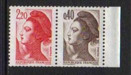 LIBERTE DE GANDON / 1982 - 1985  #  2179a & 2376b ** / 2 SCANS (ref T1296/1240) - Booklets