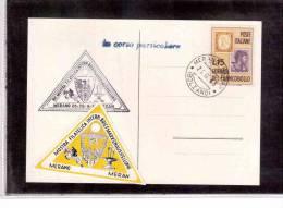 TEM6494    -  XVI MOSTRA FILATELICA INTERNAZIONALE  -  MERANO  26.9.1963 - Esposizioni Filateliche