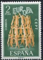PIA - SPAGNA - 1972 : Europa - (Un 1744-45) - Europa-CEPT