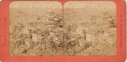 Photo Stereo Par B. K. Panorama De Rome - Stereoscopic