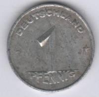 DDR / RDA - DEUTSCHLAND 1 PFENNIG E - 1949 - [ 6] 1949-1990 : RDA - Rep. Dem. Alemana