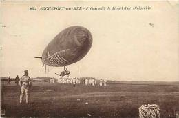 Charente Maritime -ref E249-rochefort -militaires -militaria -casernes -regiments -aviation -dirigeable - - Rochefort