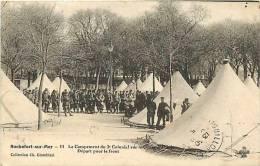 Charente Maritime -ref E240-rochefort Sur Mer -militaires -militaria -casernes -regiments -camp Du 3eme Colonial - - Rochefort