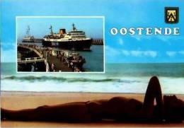 Oostende             2 Vues Un Bonjour D'Oostende   . - Alveringem