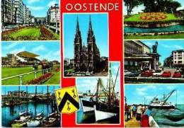 Oostende             8 Vues Un Bonjour D'Oostende   . - Alveringem