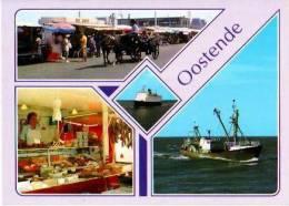 Oostende             4 Vues Un Bonjour D'Oostende   . - Alveringem
