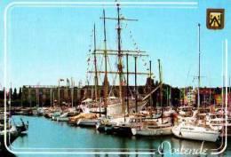 Oostende              Port De Plaisance Mercator Et Hôtel De Ville   . - Alveringem