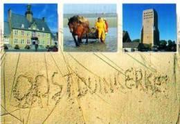 Oostduinkerke          3 Vues  Un Bonjour De Oostduinkerke  . - Oostduinkerke