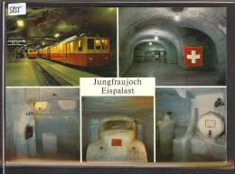 CARTE MODERNE - JUNGFRAUBAHN - TRAIN  - BAHN - TB - BE Berne