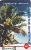 REUNION - Black Rock Beach 1, R.D. Telecom Prepaid Card 100 FF, Tirage 2000, Mint - Reunion