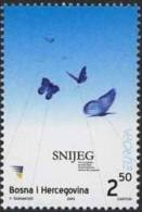Cept 2003 Bosnie Yvertn° 397 *** MNH Cote 4 Euro Faune Papillons Vlinders - Europa-CEPT