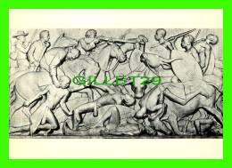 PRETORIA, SOUTH AFRICA - VOORTREKKER MONUMENT - TRANSVAAL - BATTLE AGAINST MATABELE AT KAPAIN - ART PUBLISHERS LTD - - Afrique Du Sud