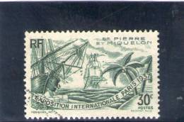 S. PIERRE ET MIQUELON 1937 O - Non Classificati