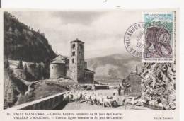 VALL'S D'ANDORRA 45 CANILLO ESGLESIA ROMANICA DE ST JOAN DE CASELLAS - Andorra