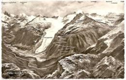 CH - VS - Furka - Grimsel [Rhonegletscher - Gletsch - Furkapasshöhe] - Photoglob - Wehrli A. G. / PZ V W N° G 7676 - VS Valais