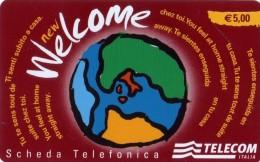 NUOVA -(Mint)-WELCOME TELECOM ITALIA-  ( WAH) - Italia