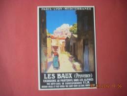 CLOUET  10174  LES BAUX DE PROVENCE  P.L.M AVIGNON ARLES ST REMY MONTMAJOUR  MARCO - Publicité