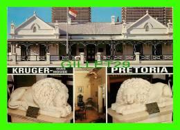 PRETORIA, SOUTH AFRICA - KRUGER HOUSE MUSEUM - 4 MULTIVIEW - ART PUBLISHERS LTD - - Afrique Du Sud