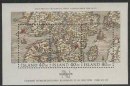 IJsland Yvertnrs: Blok 11 Postfris - Island