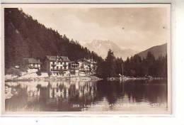 Suisse - Lac Champex ( 1470 M. ) - Et Grand Combin -(  4317 M. ) Au Loin Les Chalets - CPSM SG - VS Valais