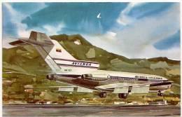 AEREO - JET BOING 727 - AVIANCA COLOMBIA - N. VG. - Vedi Retro - Formato Piccolo - 1946-....: Era Moderna