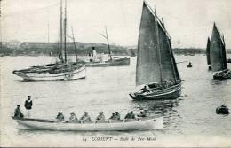 N°25328  -cpa Lorient -rade De Pen Mamé- - Bateaux