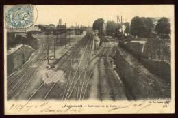 Cpa Du 95 Argenteuil Intérieur De La Gare  Arg25 - Argenteuil