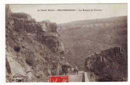 Cpa Chaudesaigues  Les Roches De Gibraltar - Sonstige Gemeinden