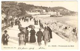 NICE  ----   Promenade  Du  Midi - Nizza