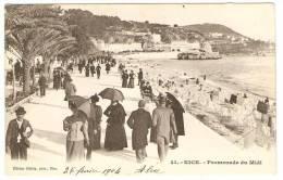 NICE  ----   Promenade  Du  Midi - Nice